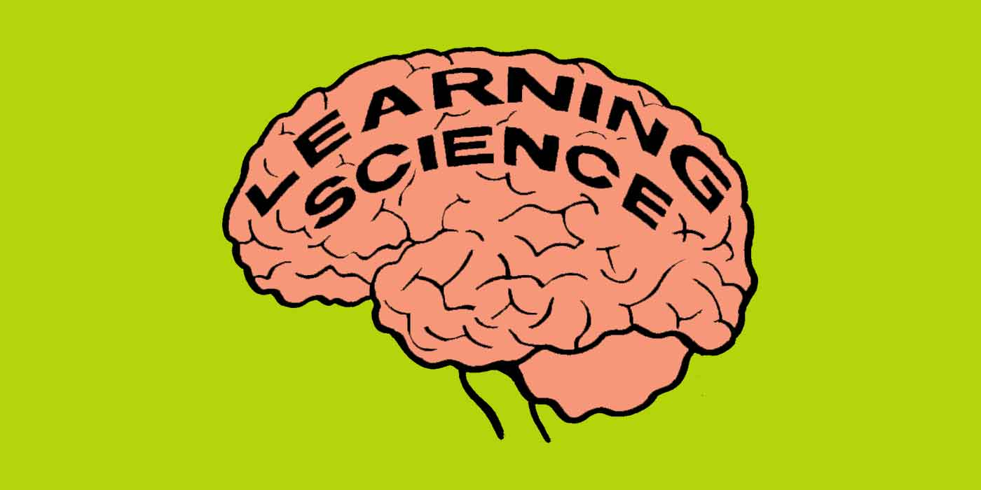 Using learning science to improve learning programmes